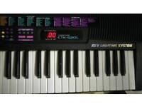 Piano Casio Key Lighting System CTK-520L