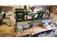 DML305 6 SPEED MIDI LATHE WITH BED EXTENTION