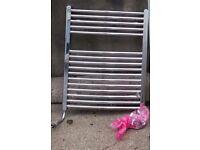 Chrome ladder radiator