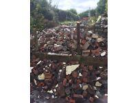 Bricks free about 2 ton