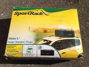 Brand new in the box SportRack vista L 15 cubic ft cargo bag