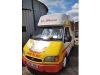 2000w soft ice cream van