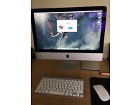 Apple iMac 21.5 Late 2013 Intel Core i5 8GB RAM 1TB HDD NVIDIA GeForce GT 750M + External DVD drive