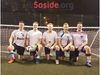 Team & individuals wanted! 5-a-side leagues in Clapham Junction