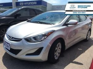 2015 Hyundai Elantra 1-OWNER | LOW KMS! | AUTO | A/C   - Low Mil