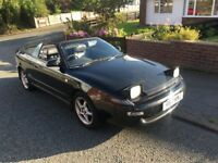 Toyota Celica 2.0 petrol automatic gt4 4x4 convertible.