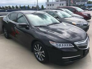2015 Acura TLX black on black 27.900 km
