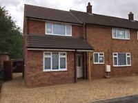 4 Double bed house to rent HISTON - unfurnished