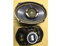 KENWOOD 6x9 CAR SPEAKERS IN FULL WORKING ORDER X2