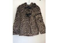 Next fur coat aged 4-5yrs