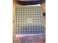 2 Sheets of Domus Keystones mosaic tiles - DDK192 Matt - perfect for splash backs