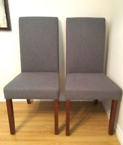 Structube Parsons Chairs (2)