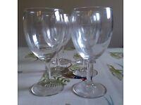 48 White Wine Glasses