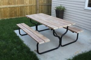 Picnic Table Buy Or Sell Patio Garden Furniture In Edmonton - Spruce picnic table
