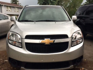I'm selling, 2012 Chevrolet Orlando LT. Only 34,297KM. $9,750.