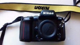 Nikon F 90 35 mm film camera.