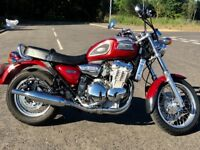 Triumph Thunderbird - Long Mot - part service history- LIKE NEW
