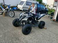 ++++ YAMAHA RAPTOR 700 R 2008 MONSTER +++++SKELETON GRAPHICS LOOKS GREAT++++++ NEW TYRES 2MOZ