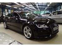 Audi A7 TDI QUATTRO S LINE (phantom black metallic) 2013