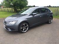 2013 (June) SEAT Leon 1.2 TSI S, low mileage and upgraded 18inch alloys