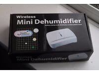 Wireless mini dehumidifier - new, unopened