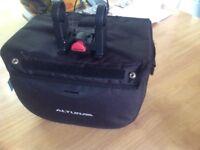 Altura bike bag for handlebar and fittings