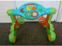 Bkids 3 in 1 fun gym and walker