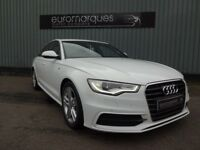 Audi A6 2.0 TDI S LINE 177PS (white) 2011