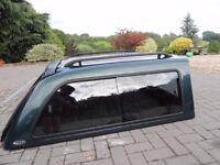 Toyota Hilux hardtop canopy
