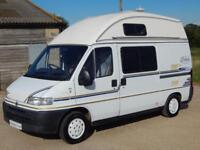 IH ECLIPSE 1999 2 Berth Campervan, Fiat 1.9 Diesel, Thetford Toilet, Awning, PAS