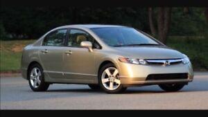 Honda Civic 1.8l, 5vit, GREAT SHAPE ! Femme proprio, 118 000km