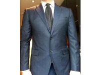 Brand New, Italian Suit, Size 50 Fabric Loro Piana