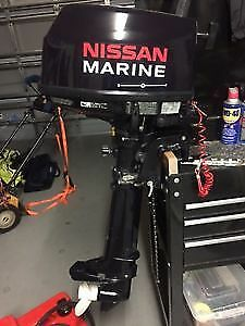 6 horspower 4 stroke outboard motor for sale. low hrs.