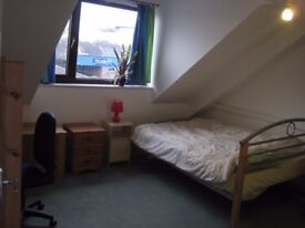 OFFERED; large double room 7 min from colch. town center. bills and internet included