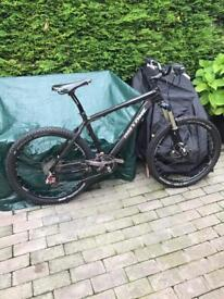 On One carbon 456 mountain bike high end spec cost £4000