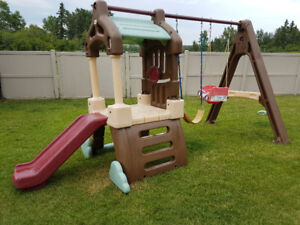 Little Tikes Swing Set with Slide and Climber