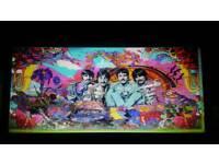 The beatles Sgt Pepper massive Art Canvas