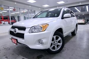 2012 Toyota RAV4  LIMITED ONE OWNER, CLEAN CARPROOF, NON SMOKER,