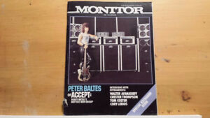 Looking for Peavey Monitor magazines