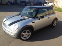 MINI COOPER HATCHBACK, 2001, LOW MILES, TAXED AND MOT'ed