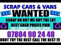 CASH FOR CARS NON RUNNERS SCRAP NO MOT DAMAGED BEST Bm