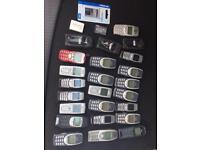 Job lot of Nokia phones
