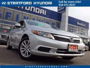 2012 Honda Civic EX   SUNROOF   BLUETOOTH   GAS SAVER!  