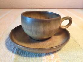 Denby ware cup and saucer
