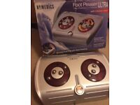 Homedics foot massager with heat function