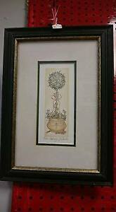 Rose Topiary By Janice Tanton Painting
