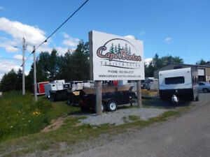 Various Sizes of Dump, Cargo, Utility & Flat Deck Trailers!!