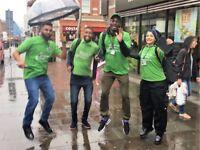 Charity Fundraiser Street & Events £296-£441 P/W Basic + Uncapped Bonus! No Experience Necessary