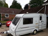Abbey 380 Expression caravan. Extras inc Movers & awning. Excellent condition.