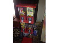 Vintage retro bubblegum vending machine